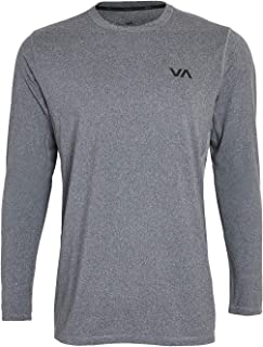 RVCA Men's Sport Vent Long Sleeve Crew Neck T-Shirt