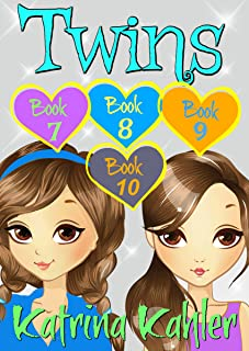 TWINS : Part Three - Books 7, 8, 9 & 10 : Books for Girls 9-12 (Twins Series Book 3)