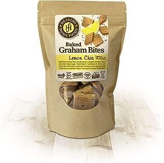 Lemon Chia Graham Bites
