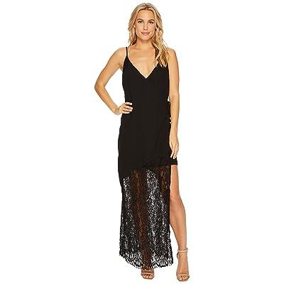 Adelyn Rae Lola Maxi Slip Dress (Black) Women