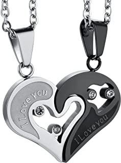 cute boyfriend girlfriend necklaces