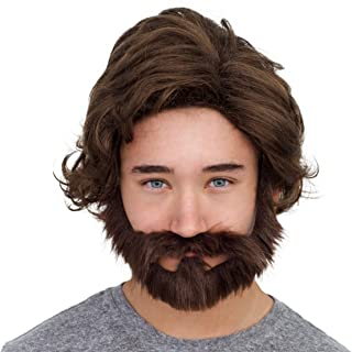 Adult Deluxe Party Late Wig and Beard Costume Accessory