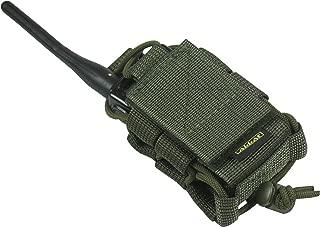 MOLLE Tactical Pouch Bag Radio Phone GPS Holster Holder BaoFeng Two-Way BF-F8HP UV-5R UV-82HP UV-5X3 UV-82C Garmin Retevis Motorola T460 T600 MR350R MH230R Midland Arcshell