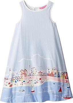 Printed Woven Dress (Toddler/Little Kids)