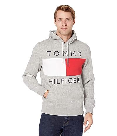 Tommy Hilfiger Quinn Hoodie (Grey Heather) Men