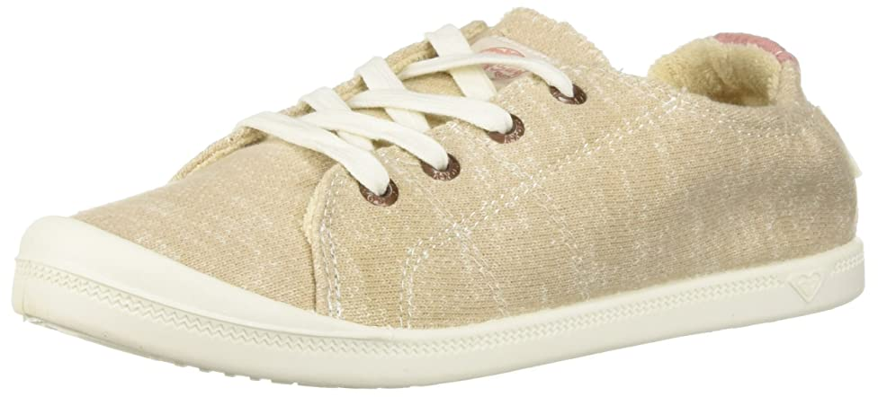 人事パンチコットン[Roxy] レディース Bayshore Slip on Shoe Fashion Sneaker カラー: ベージュ