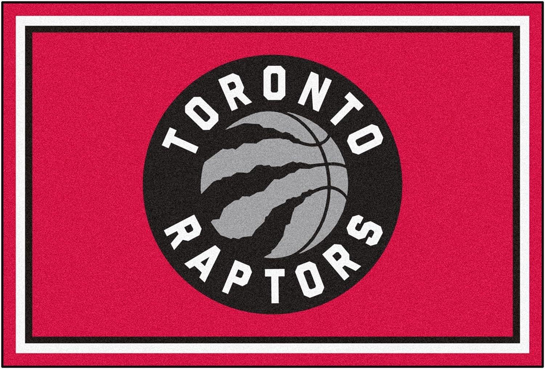 Tgoldnto Raptors NBA 5x8 Rug (60x92)