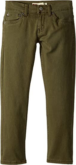 Levi's® Kids 511 Slim Fit Pigment Dyed Pants (Big Kids)