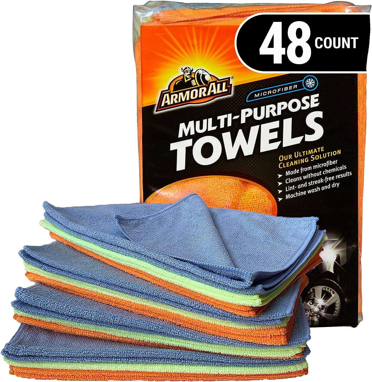 Armor All Microfiber Towels 48-Pack