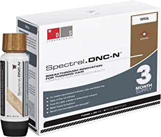 Spectral DNC-N Solution for Thinning Hair (3 Month Supply) - Water Based Formula, Get Thicker & Fuller Hair
