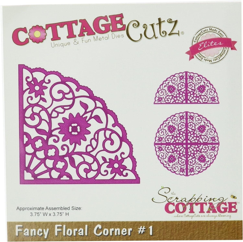 CottageCutz Elites Die-Fancy Floral Corner  1 B00DV8Z3I2       | Qualität Produkt  a669d4