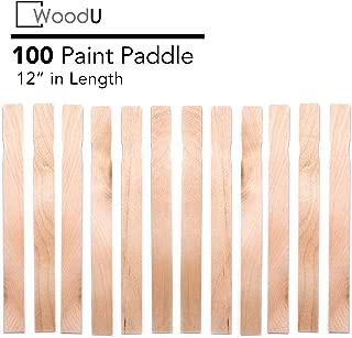 Wooden Paint Stir Sticks 12