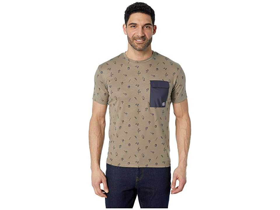 Helly Hansen Lomma T-Shirt (Fallen Rock Print) Men