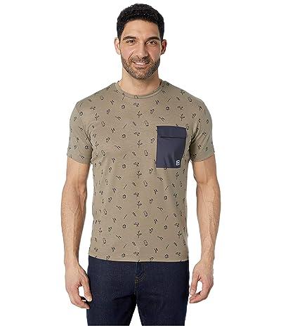 Helly Hansen Lomma T-Shirt (Fallen Rock Print) Men