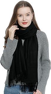 130cd10c51f2e6 DonDon Sciarpa invernale da donna 185 x 65 cm grande e morbido tinta unita