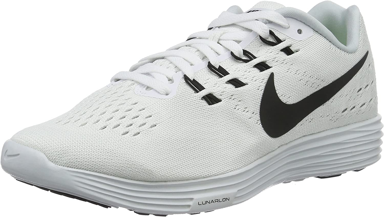 Nike Lunartampo 2 herr herr herr springaning skor vit 888097 100, Storlek 40  rabatt lågt pris