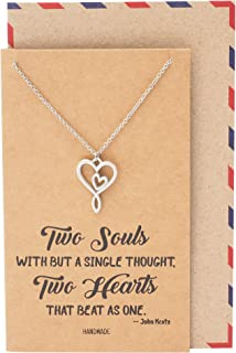 Best infinity heart necklace meaning Reviews