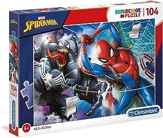 Clementoni Super Color Puzzle Disney Spider-Man, Multi-Colour, 104 Pieces