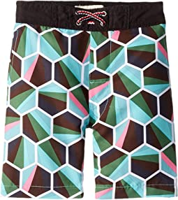 6fde707dc9d7 Hatley kids boys swim trunks toddler little kids pirate dogs ...