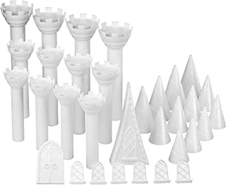 castle cake stand