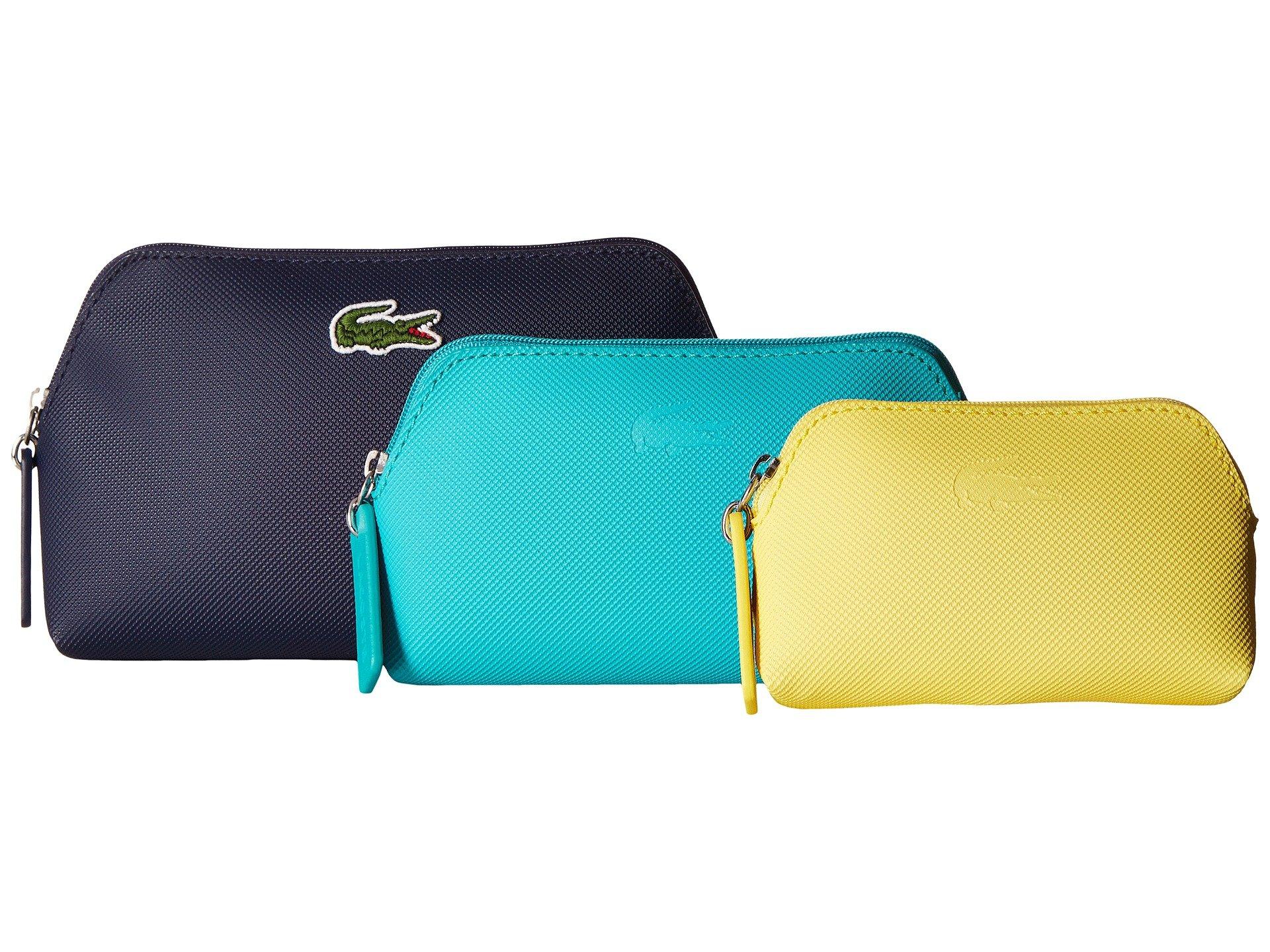 Bolso Accesorio de Viaje para Mujer Lacoste L.12.12 Concept 3 Size Make Up Pouches  + Lacoste en VeoyCompro.net