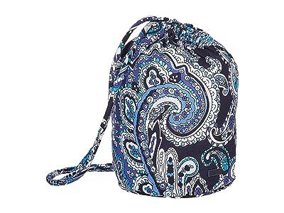 Vera Bradley Iconic Ditty Bag (Deep Night Paisley) Backpack Bags