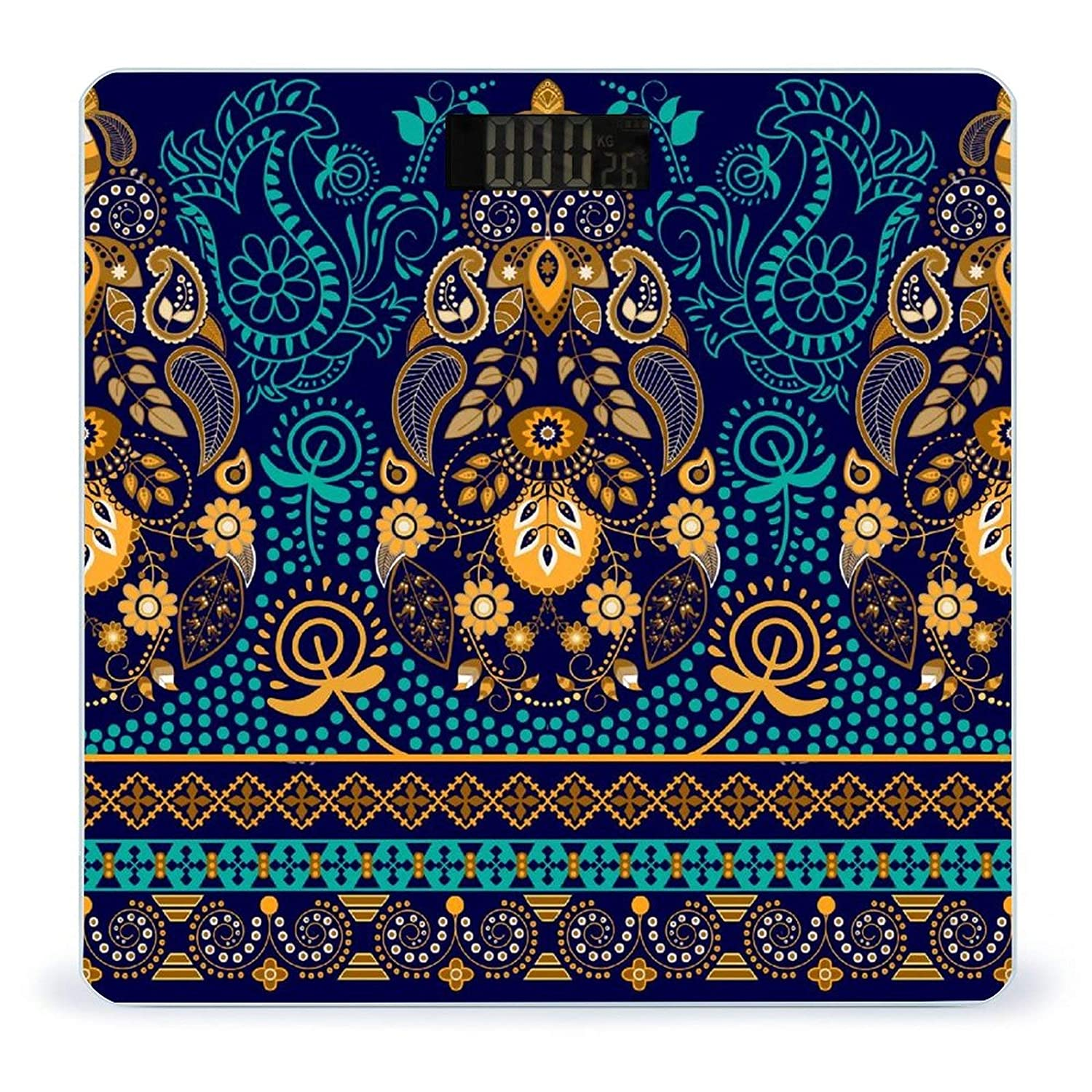 Paisley WallpaperWeight Scale Digital Body Indefinitely At the price of surprise Battery-Powered Digit