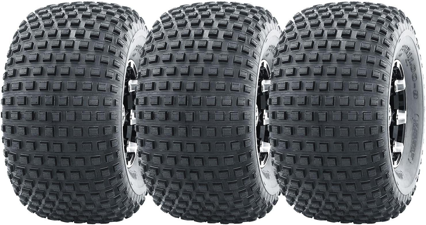 3 New WANDA ATV Tires 22X11-8 Miami Mall 22x11x8 4PR Omaha Mall Wheelers for - P323