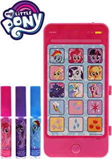 MY LITTLE PONY-3 PK LIP GLOSS WITH CELLPHONE