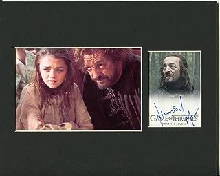 game of thrones autographed memorabilia