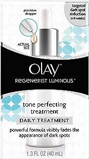 Olay Regenerist Luminous Tone Perfecting Moisturizer and Sun Spot Remover, 1.3 Fl Oz