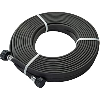 GREEN MOUNT 04070P Garden Soaker Hose 1/2 inch 50 ft Heavy Duty for Flower Beds, Seedling