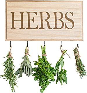 wooden herb drying rack