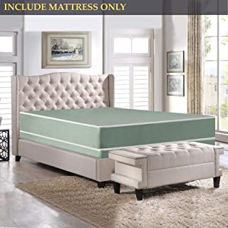 Nutan 8-Inch Firm Double sided Tight top Waterproof Vinyl Innerspring Fully Assembled Mattress, Good For The Back,Queen