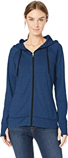 Amazon Essentials Brushed Tech Stretch Full-Zip Hoodie Donna