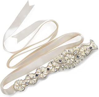 Best beaded belts for bridal gowns Reviews