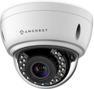 Amcrest 4x Optical Zoom HD 1080P 1920TVL Dome Outdoor Security Camera (Quadbrid 4-in-1 HD-CVI/TVI/AHD/Analog), 2MP 1920x1080, 65ft Night Vision, Motorized Varifocal Lens 40°-90°, White (AF-2MVD-VARIW)