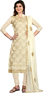 Blissta Women's cotton Dress Material