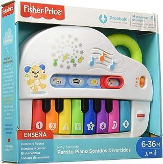Fisher-Price Rie y Aprende Infantil Perrito Piano Sonidos