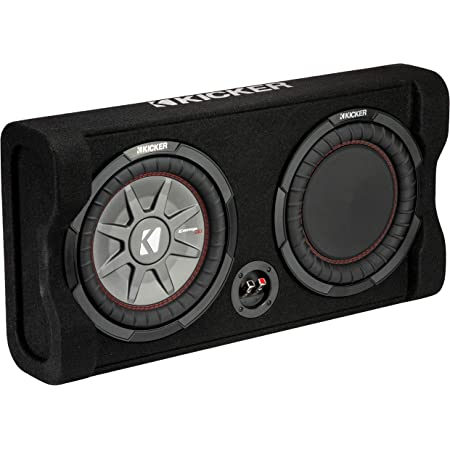 Kicker 47trtp102 Down Firing 10 Comprt 2 Ohm Gehäuse Audio Hifi
