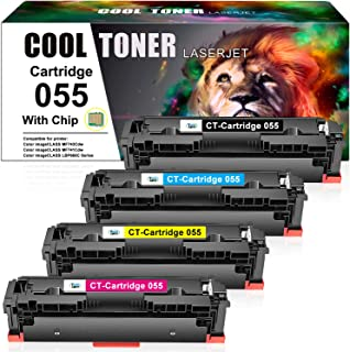 Cool Toner Compatible Toner Cartridge Replacement for Canon 055 Toner MF743Cdw Canon Color imageCLASS MF741Cdw MF746Cdw MF...