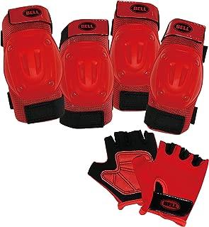 BELL(贝尔) 头盔自行车 自行车 护具 街头护垫套装 红色帽子 7084717