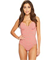 Tory Burch Swimwear - Gingham One-Piece