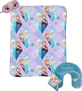 Jay Franco Disney Frozen Sparkles 3-Piece Travel Gift Set with 40