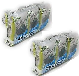 Trader Joe's - Organic Roasted Teriyaki Seaweed Snack (6-0.17 oz Packages) - 2-PACK (12 Packages Total)