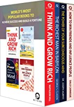 World S Most Popular Books To Achieve Success And Build A Fortune Set Of 4 Books
