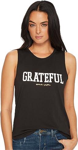 Spiritual Gangster - Grateful Muscle Tank Top