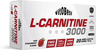 L-CARNITINE 3000-20 Viales 10 ml FRESA ACIDA - Suplementos Alimentación y Suplementos