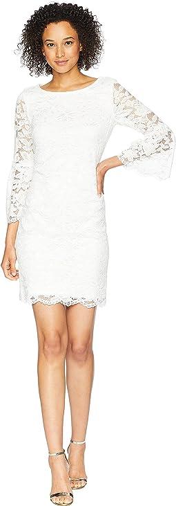 Short Bell Sleeve Dress