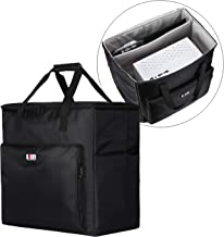 BUBM Desktop Gaming Computer Tower PC Carrying Case Travel Storage Bag for Tower Case, Monitor(Up to 24 inch), Keyboard an...